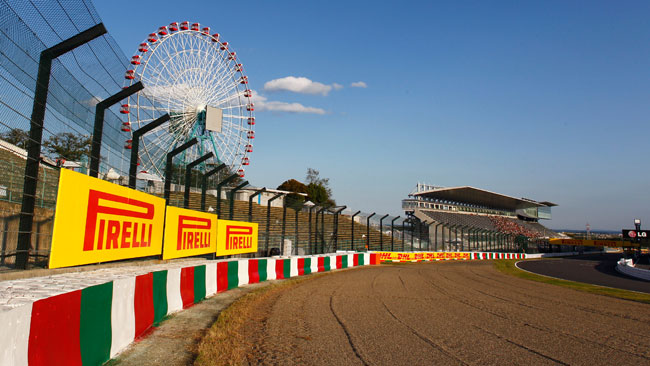 La Pirelli porta le due mescole più dure in Giappone
