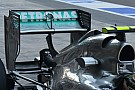 La Mercedes ha riprovato il Doppio DRS sulla W04