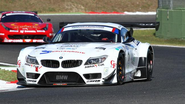 Rangoni e  Mulacchiè con la BMW Z4 alla 6h di Roma