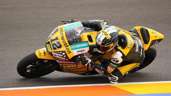 Thomas Luthi in evidenza anche nei test di Valencia