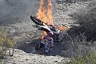 Dakar 2014: ecco la Honda di Goncalves in fiamme!