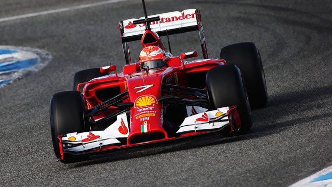 Test Jerez: la Ferrari rimanda in pista Raikkonen