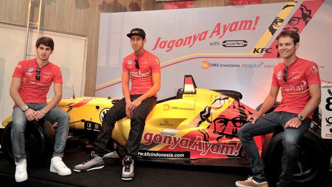 Presentati a Jakarta i nuovi colori della Carlin