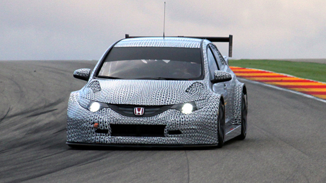 Honda Civic TC1, la prima immagine!