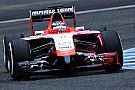 Jules Bianchi apre e chiude per la Marussia a Sakhir