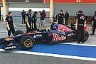 Toro Rosso: Vergne riesce a girare subito con STR9