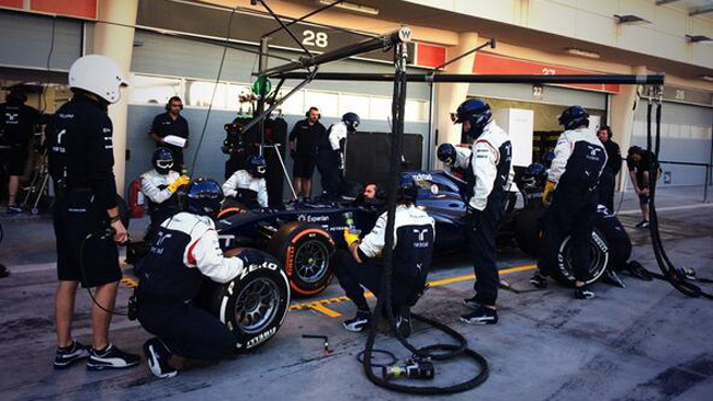Bahrein, Day 3: prove di pit stop per la Williams