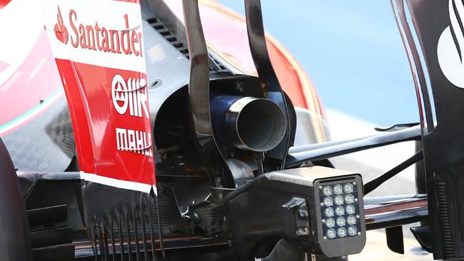 Ferrari: torna lo sfogo più grande dell'aria calda