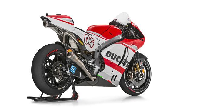 Ducati Desmosedici GP14: la scheda tecnica
