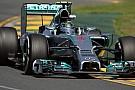 Melbourne, Libere 3: Rosberg svetta con la Mercedes