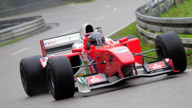 Bormolini al via nel CEM con una Reynard F3000