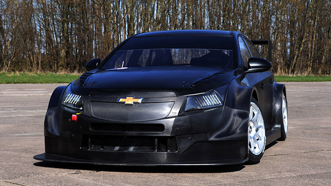 Pronte le prime due Chevrolet Cruze TC1