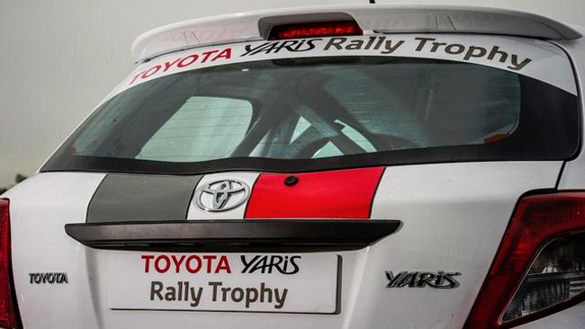 La Toyota ha cominciato i test con la Yaris WRC