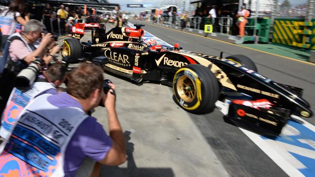 La Lotus in Malesia con modifiche aerodinamiche
