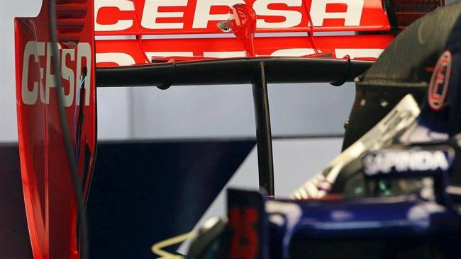 Toro Rosso mostra un diverso mono pilone