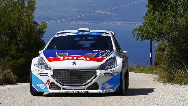 Acropoli, PS3: Il duo Peugeot detta legge