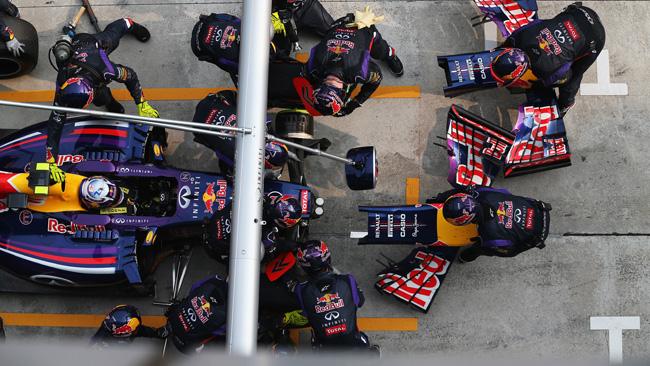 La Red Bull sta verificando l'ala di Ricciardo