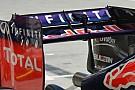 Red Bull: tagliata anche l'ala posteriore