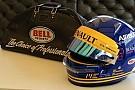 Marcus Ericsson dedica il casco a Ronnie Peterson