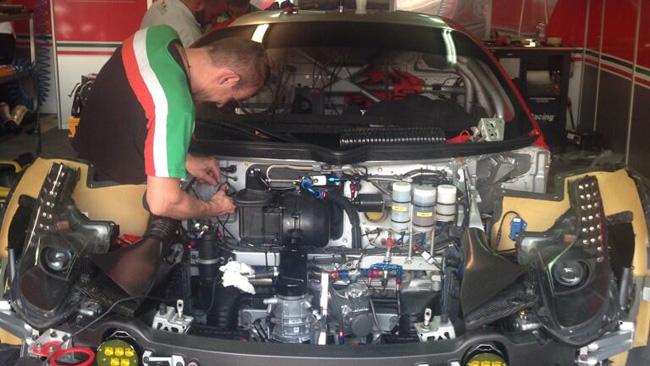 Miracolo riuscito: ricostruita la Ferrari 458 numero 71