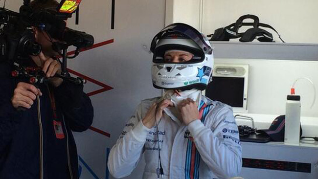 Susie Wolff scende in pista con la Williams FW36