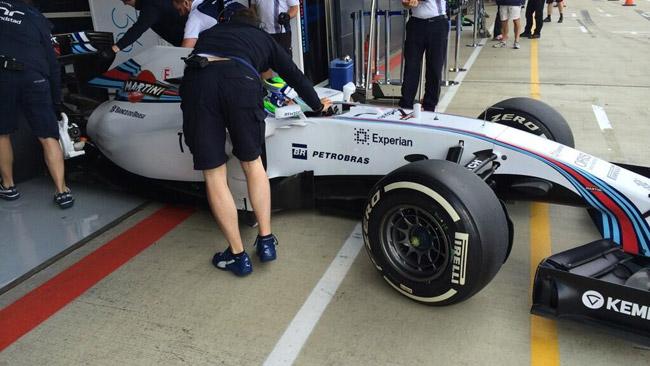 Silverstone, Day 1: Massa precede di poco Ricciardo