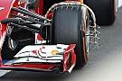 La Ferrari analizza i flussi intorno alla ruota anteriore