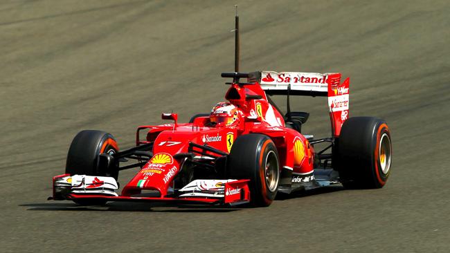 Bianchi con la Ferrari F14 T il più veloce a Silverstone