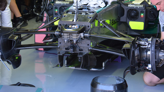 Mercedes: molto lavoro sul terzo ammorizzatore
