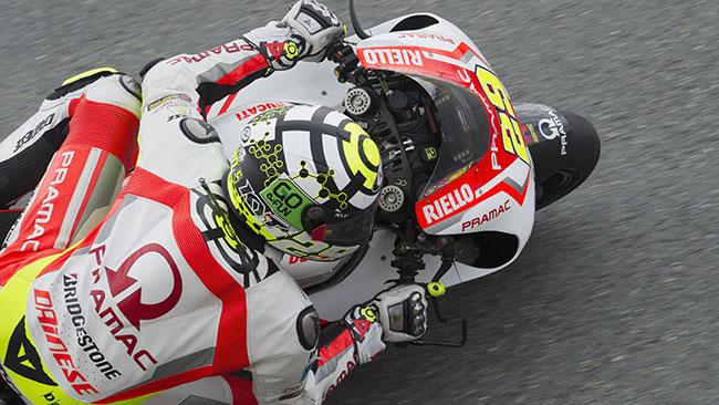 Andrea Iannone ottimista in ottica gara