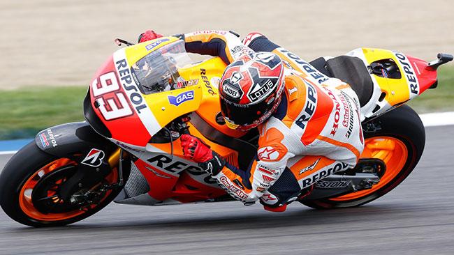 Marquez come Agostini: dieci di fila ad Indianapolis!