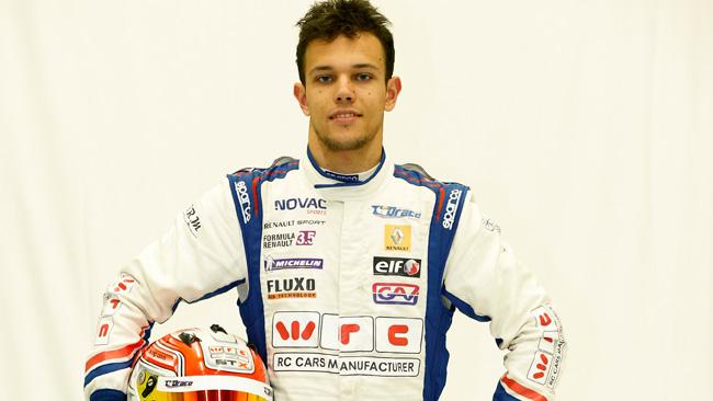 Luca Ghiotto debutta con la Trident a Spa