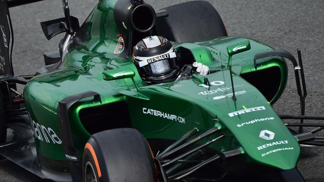 La Caterham ha confermato Kobayashi per Singapore
