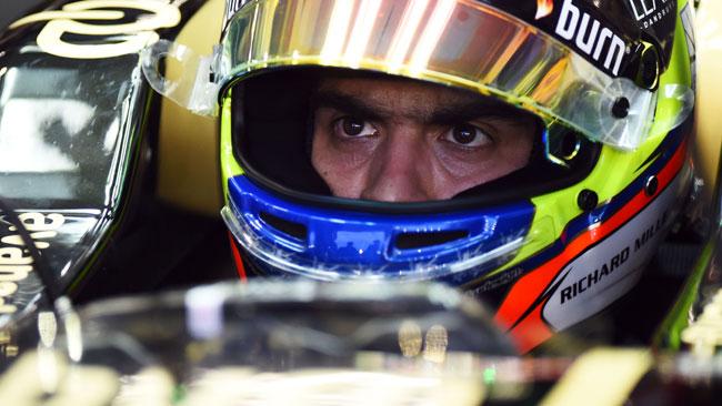 Maldonado cambia power unit e perde 10 posizioni