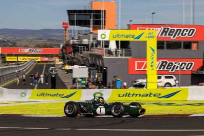 Iconic Brabham BT19 driven by Sam Brabham completes Bathurst laps