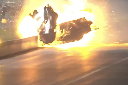 Heftiger Feuerunfall beim Dragster-Auftakt in Florida