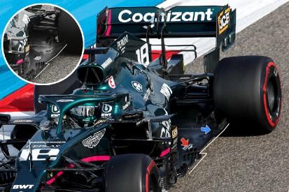 Formel-1-Technik: Überarbeiteter Unterboden bei Aston Martin