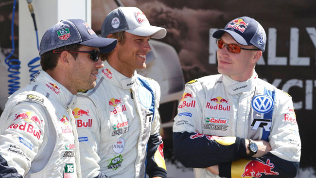 Volkswagen continua con Ogier, Latvala e Mikkelsen