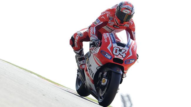 Solo un giorno di test per la Ducati a Valencia