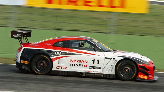 Nissan GT-R protagonista ma ko nella 6 Ore di Roma