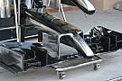 McLaren: modifiche ai profili dell'ala anteriore