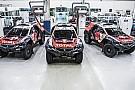 Dakar: sono pronte le tre Peugeot 2008 DKR