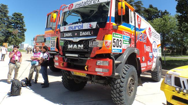 Dakar: Loprais a sorpresa si schiera con il Man