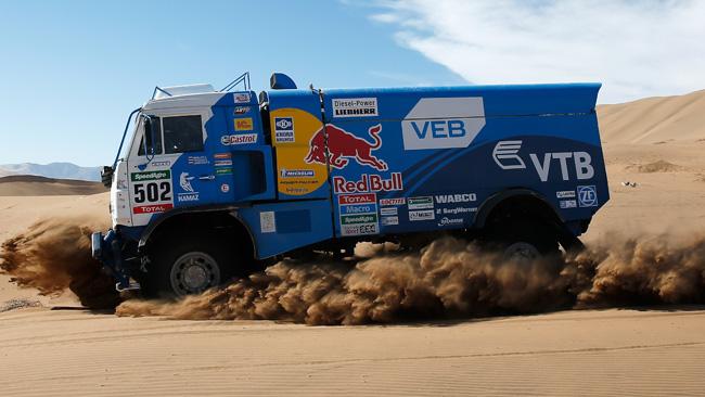Dakar, Camion, Tappa 5: Nikolaev sale in vetta