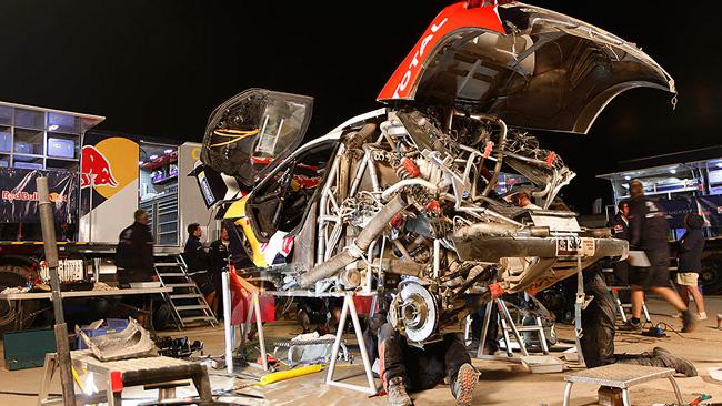 Dakar, la Peugeot è arrivata al giorno di riposo