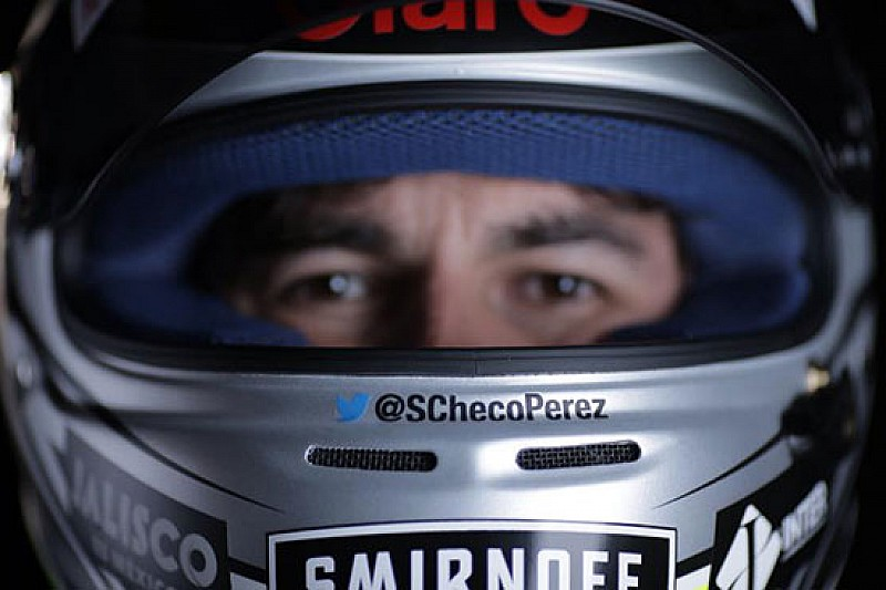 Nuova livrea del casco per Sergio Perez?