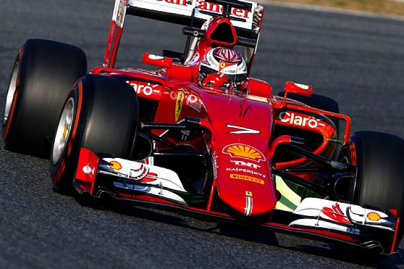 Ferrari: Raikkonen si porta già in testa ai tempi