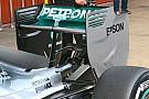 Mercedes: un nuovo Monkey seat sulla W06 Hybrid