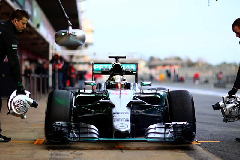 La Mercedes ricomincia con Hamilton a Barcellona
