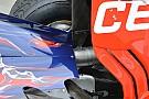 Toro Rosso: il mono pilone passa nello scarico!